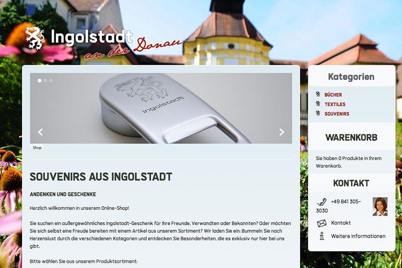 Webshop Tourismusamt